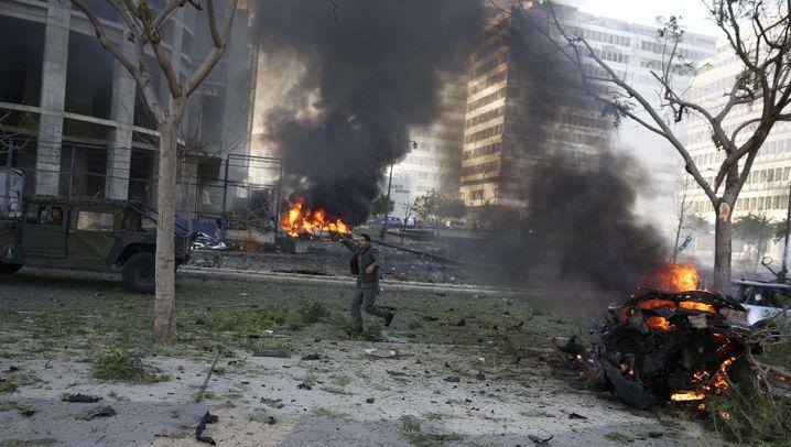Attentat auf Ex-Minister: Bombenanschlag in Beirut