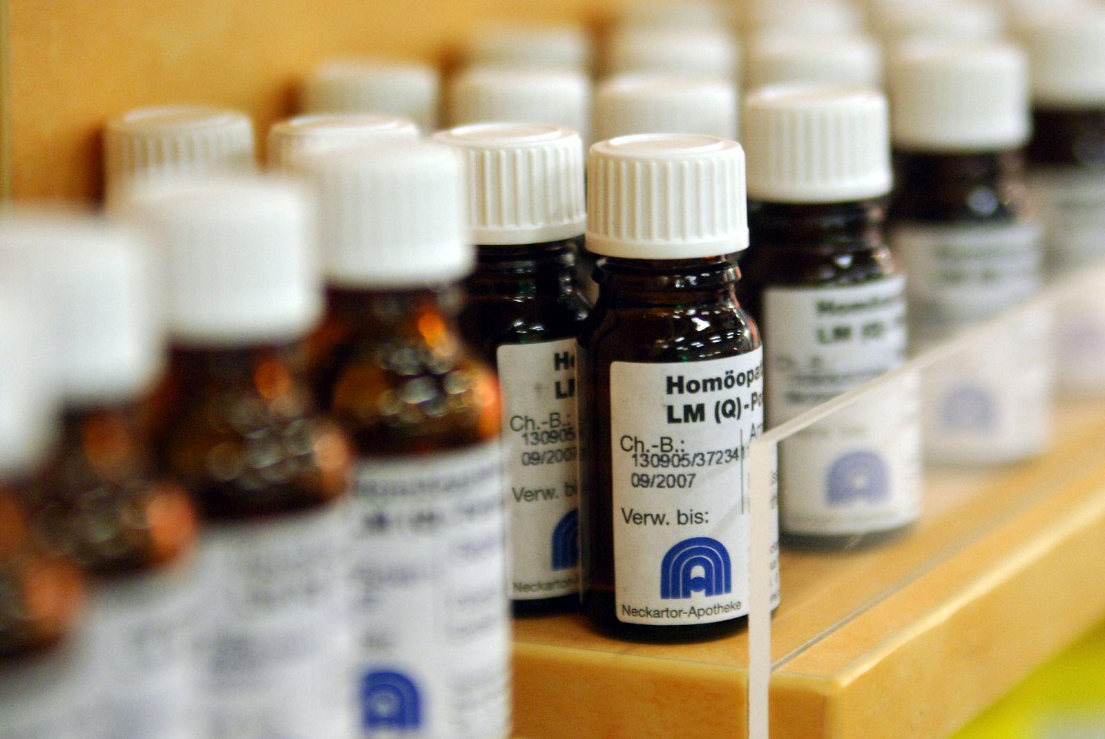 NICHT VERWENDEN Homöopathie / Medikamente