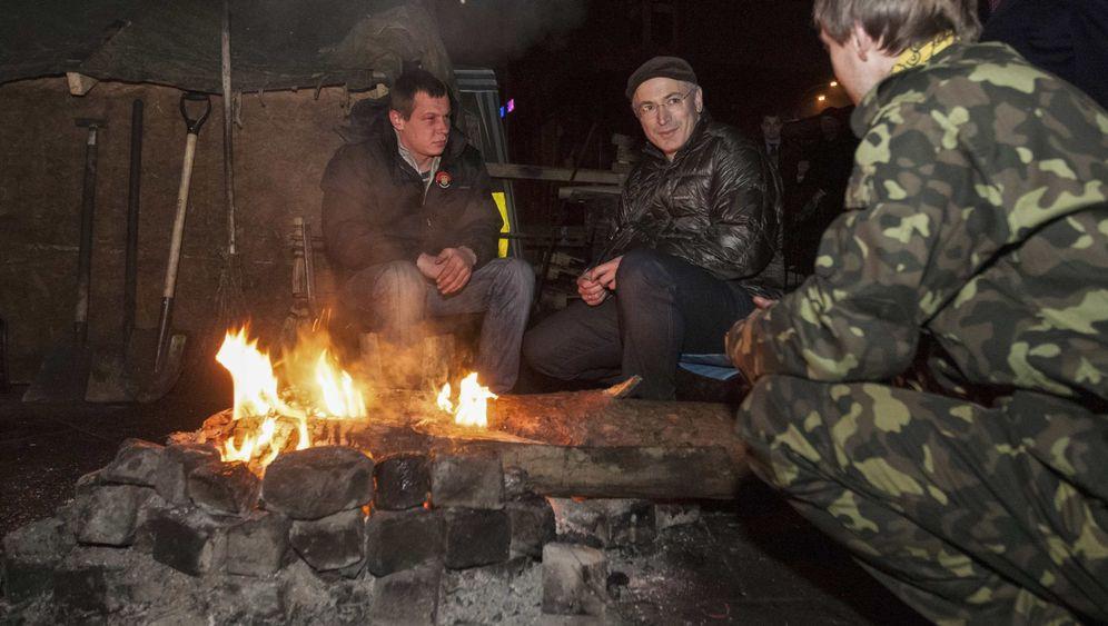 Putin-Gegner: Chodorkowski auf dem Maidan