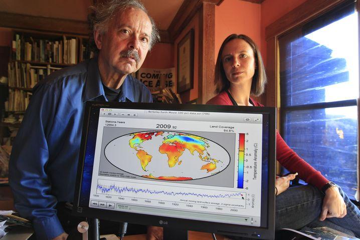 Richard Muller mit seiner Tochter Elizabeth: Forscher mit großem Renommee