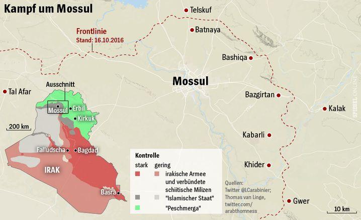 Die aktuelle Lage in Mossul