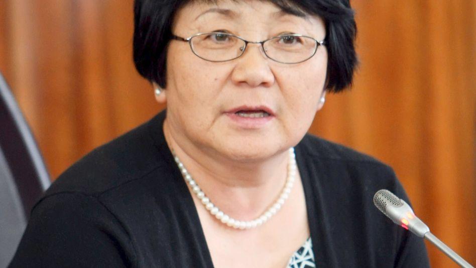 Kyrgyzstan's interim President Roza Otunbayeva (June 11 photo):