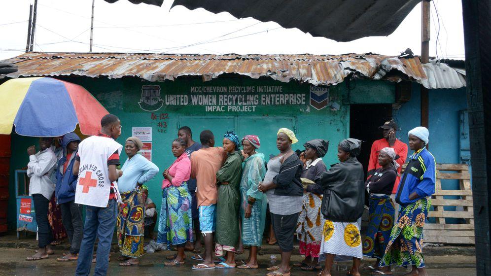 Ebola: Bilder aus Sierra Leone, Liberia und Guinea