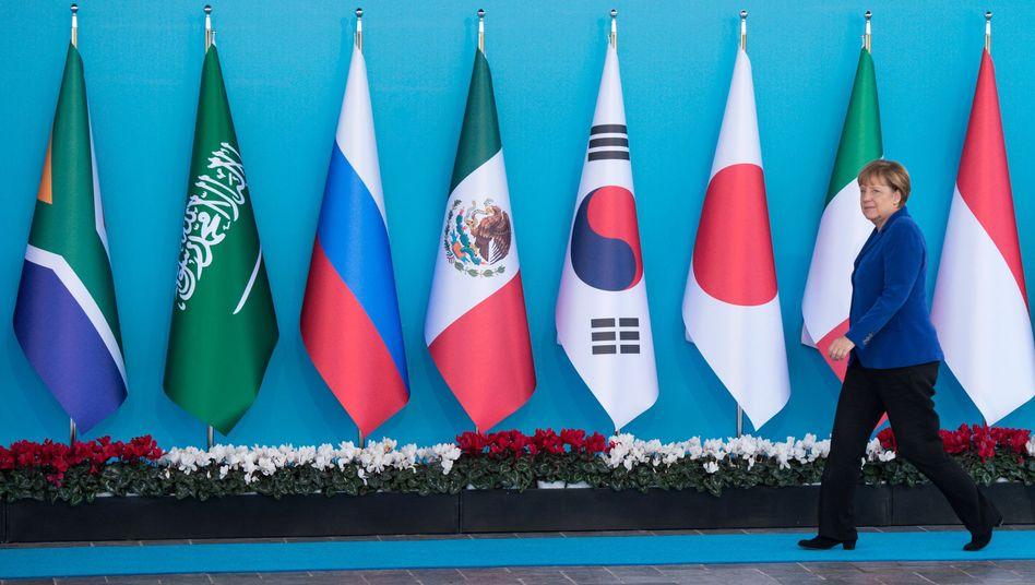 Kanzlerin auf dem G20-Gipfel in der Türkei 2015