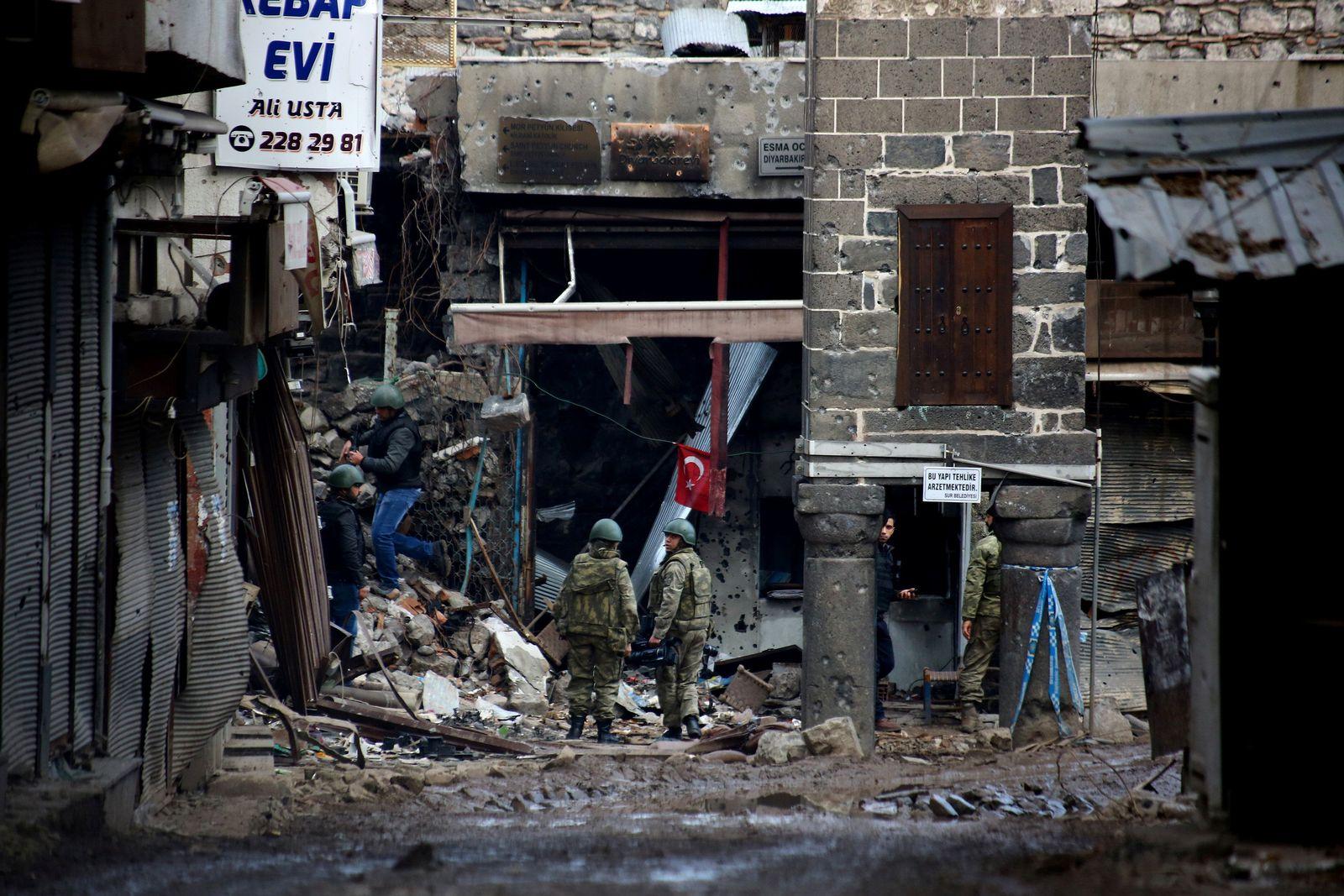 Kurdische Gebiete / Diyarbakir