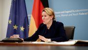 FU Berlin erwägt offenbar Entzug von Giffeys Doktortitel