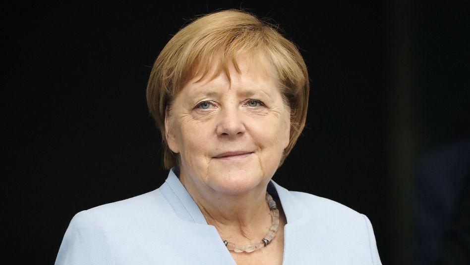 """Angela Merkel in Berlin: """"Aber dazu müssen wir das Austrittsabkommen nicht aufmachen"""""""