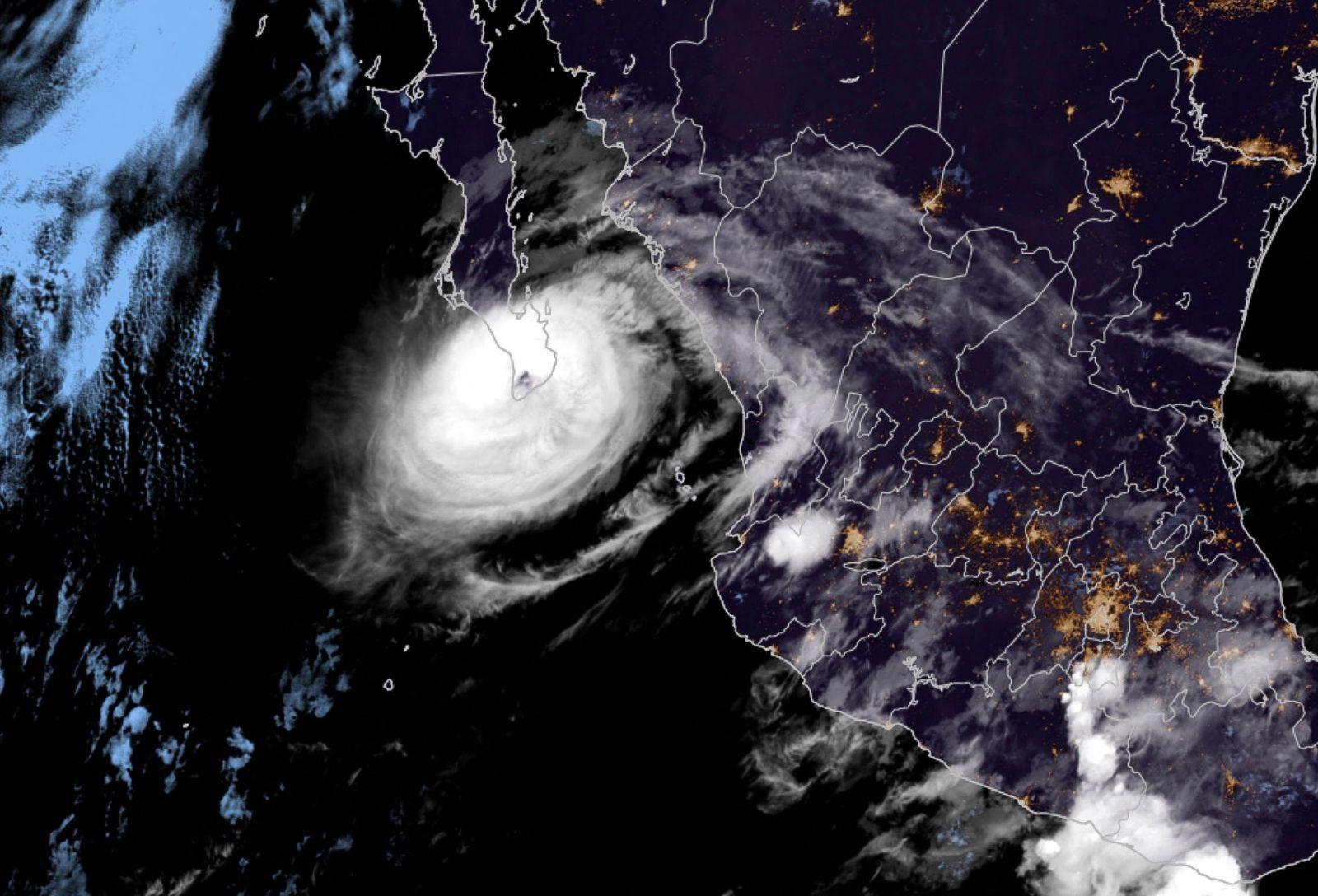 Hurricane Olaf barrels towards Mexico's Los Cabos