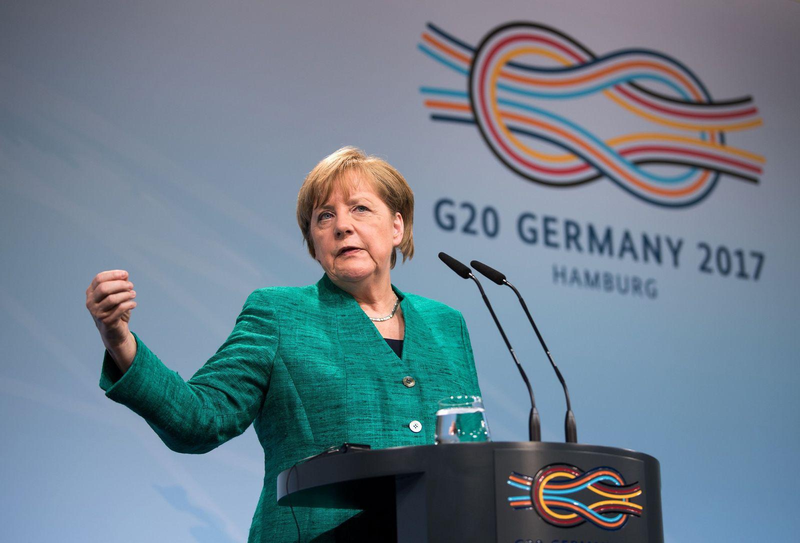 G20/ Pressekonferenz/ Angela Merkel