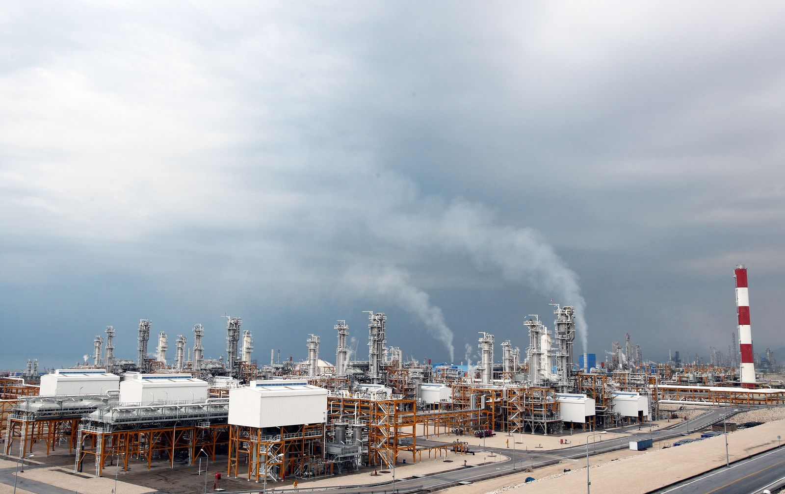 Iran / Südpars / Gas-Anlage