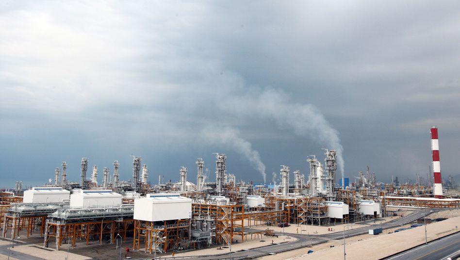 South-Pars-Gasfeld: Iran hat eines der größten Gasvorkommen der Welt