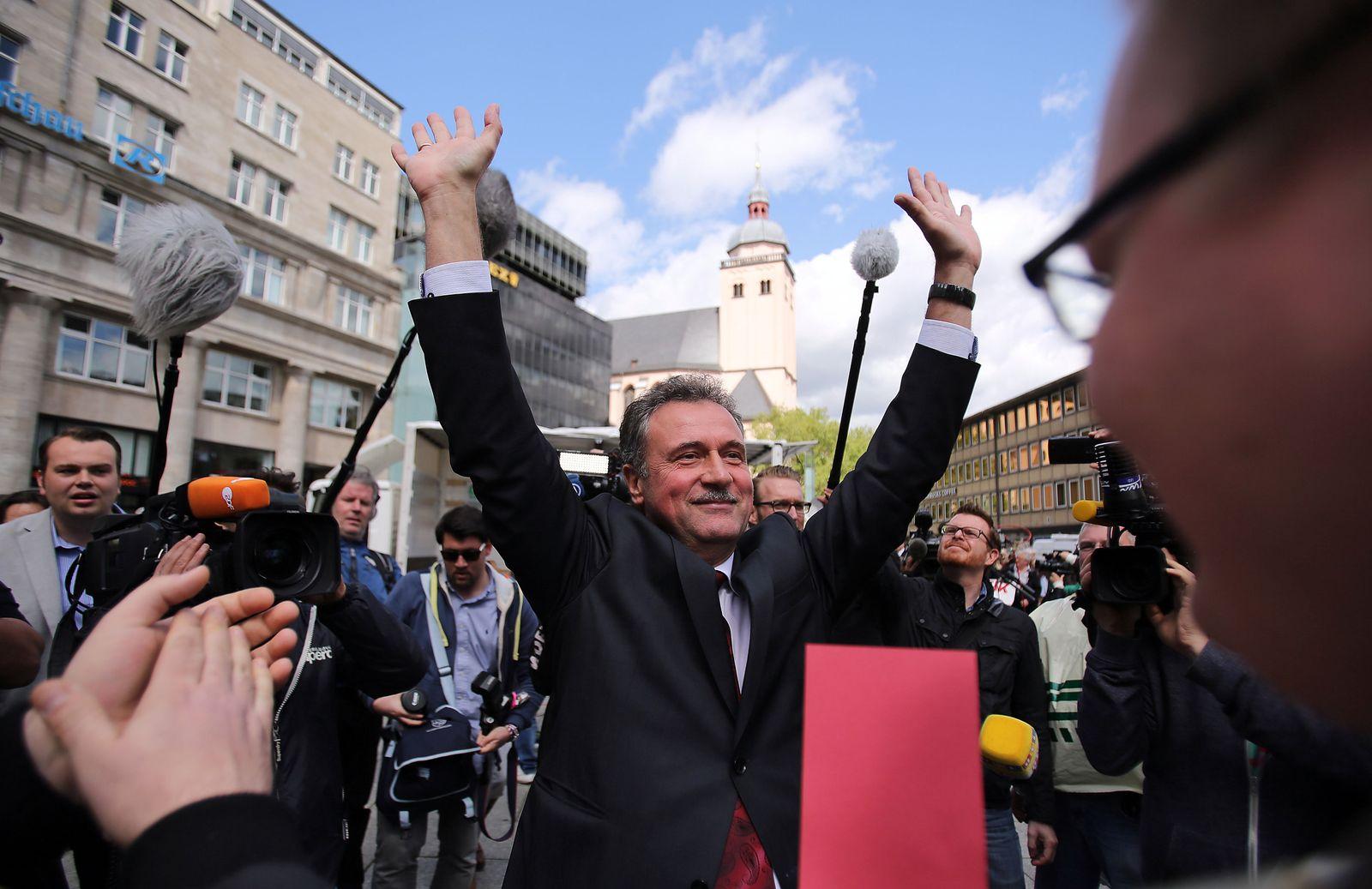 VIDEOTEASER_Streikkundgebung GDL - Claus Weselsky