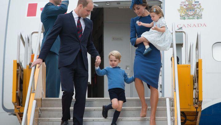 Royals in Nordamerika: Kate, Kinder, Kanada