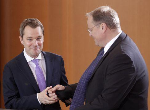 Daniel Bahr (links), Dirk Niebel