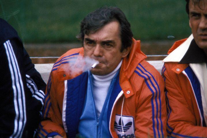 Happel bei der WM 1978 als Trainer der Niederlande: Finalniederlage gegen Argentinien