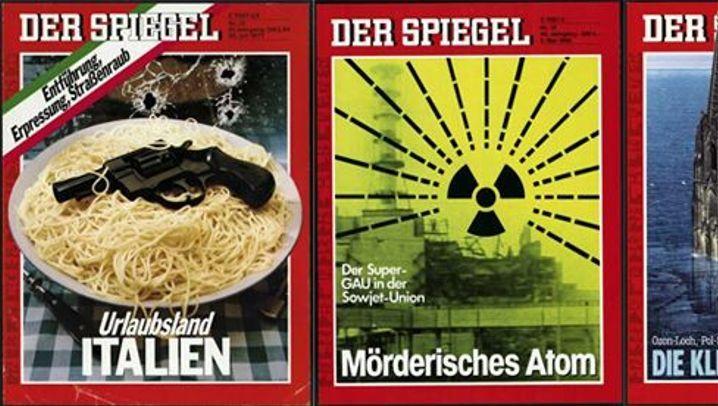 Titelbilder: SPIEGEL-Titel - die stärksten Cover von 1977 bis 1986
