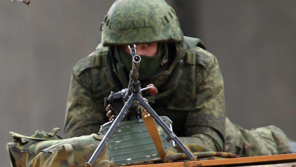 Soldat auf der Krim: Es dreht sich die Spirale des Irrsinns