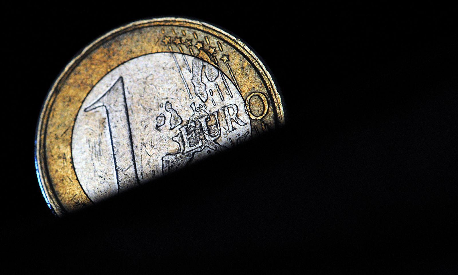 Deutsche Ein-Euro-Münze