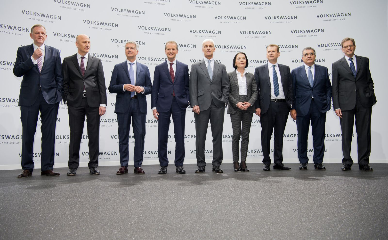 Volkswagen - Bilanzpressekonferenz