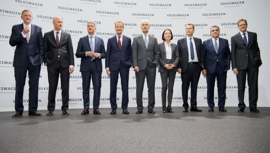 VW-Vorstand mit Hohmann-Dennhardt
