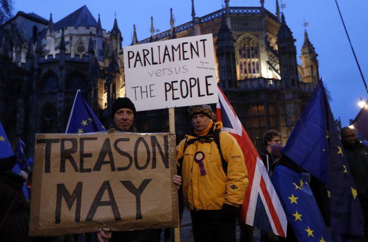 Brexit-Verfechter in London