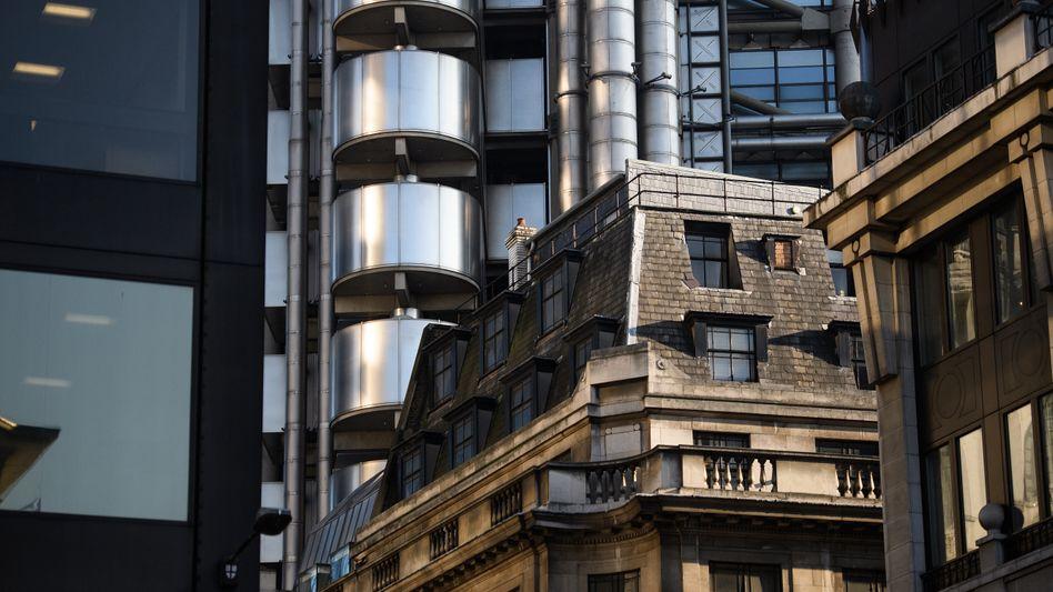 Lloyds Building im Londoner Bankenviertel
