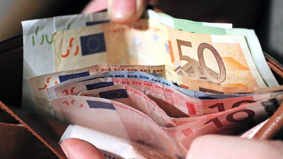 Geld geschenkt
