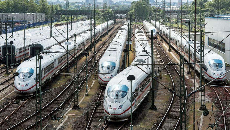 Fernzüge der Deutschen Bahn: Von 19 Uhr an wieder im Dienst