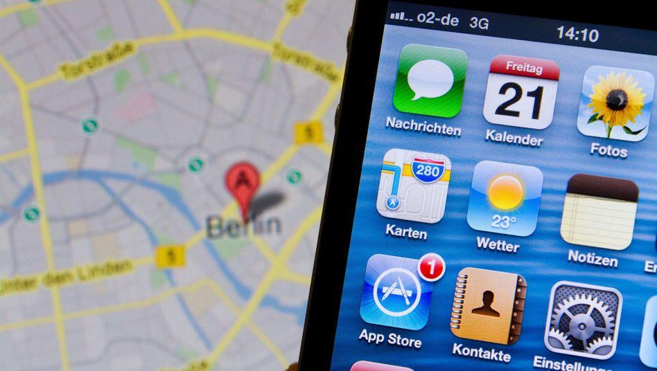 Karten-App von Apple: Bald mit Navigation innerhalb von Gebäuden