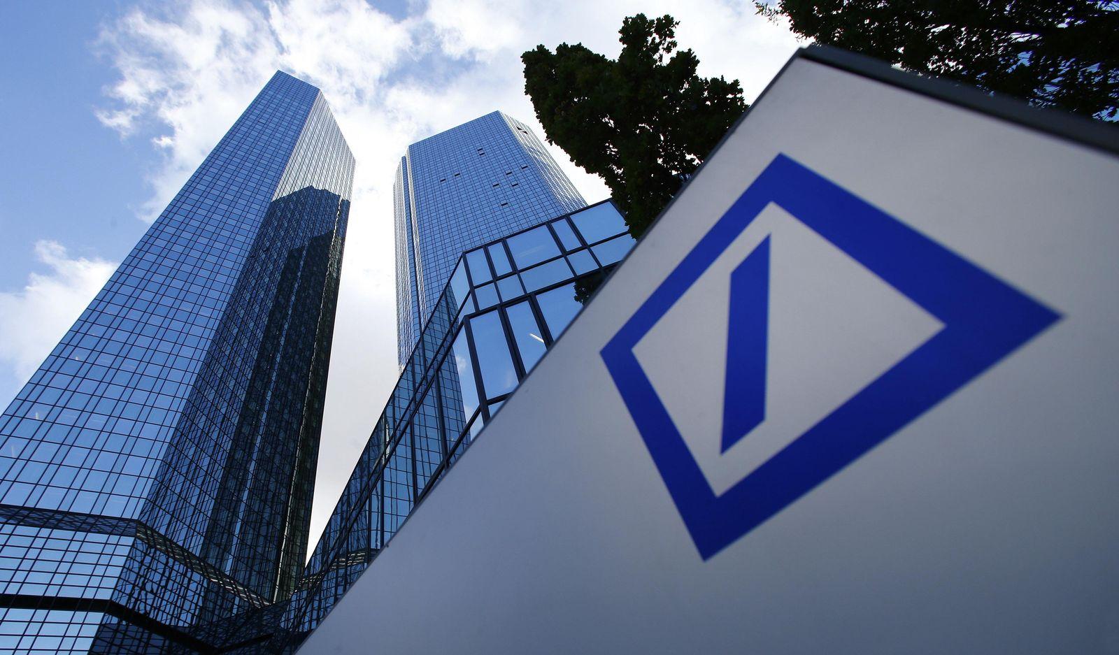Symbolbild Logo Deutsche Bank