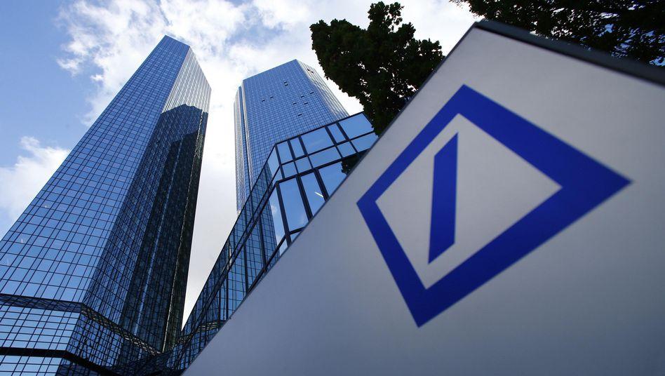 Deutsche Bank in Frankfurt: Erwartungen von Analysten deutlich verfehlt