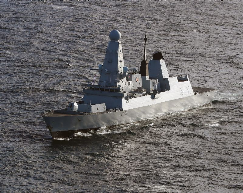 Warning shots fired at HMS Defender when entering Russian waters
