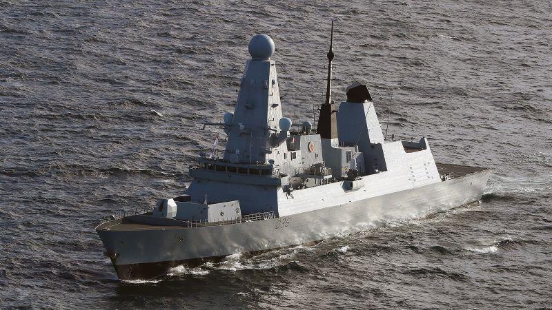 Die britische »HMS Defender«