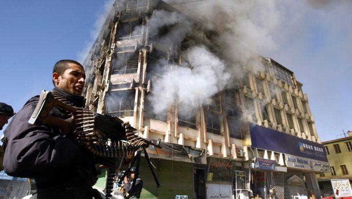 Überfall der Taliban Mitte Januar: Angriff auf Kabul