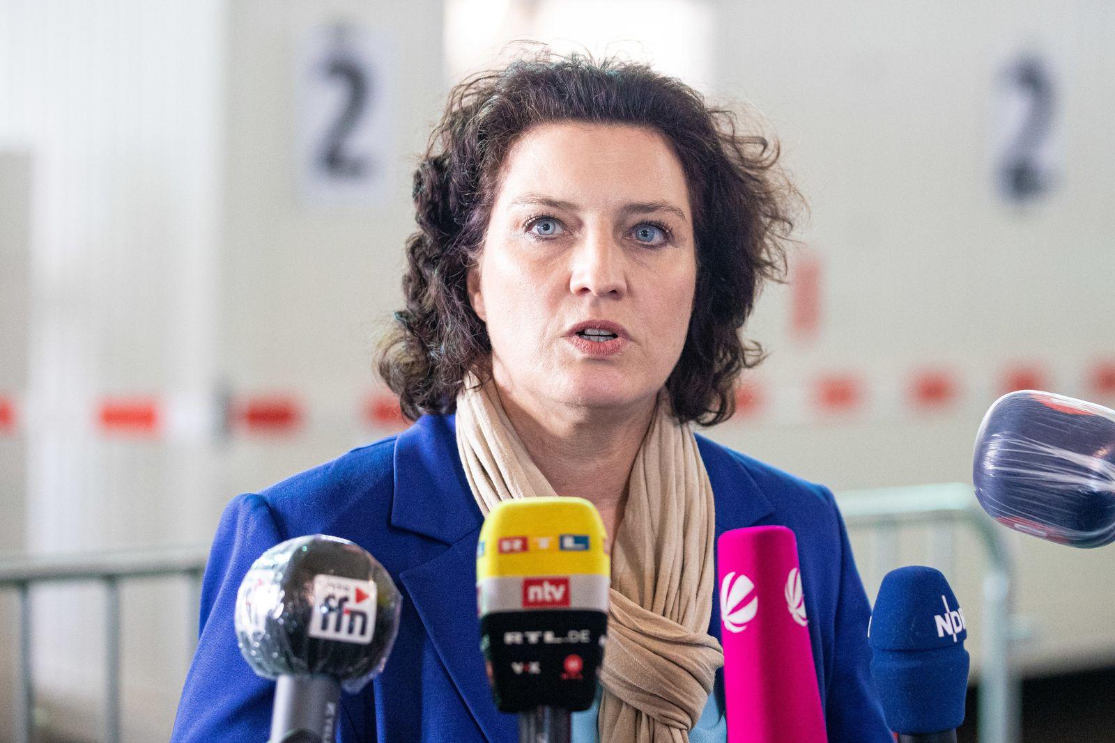Corona-Testzentrum am Flughafen Hannover