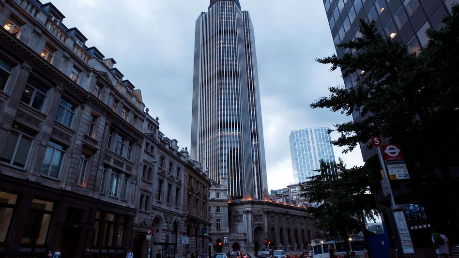 The London headquarters of the Committee of European Banking Supervisors, which carried out last week's stress test of Europe's major banks.