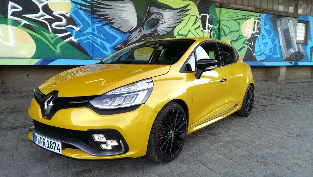 Fahrbericht Renault Clio R.S. Trophy: Renaults Rennsemmel
