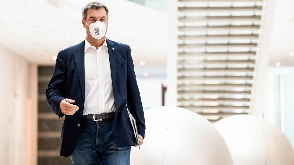 Bayerns Ministerpräsident Söder