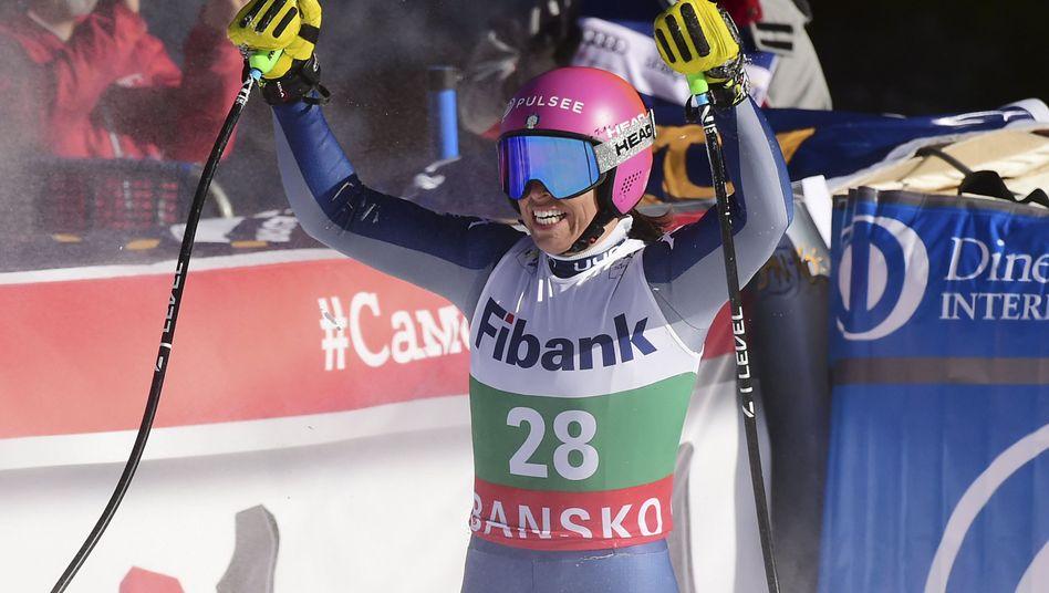 Ski alpin: Italienischer Dreifachsieg bei Abfahrt in Bansko