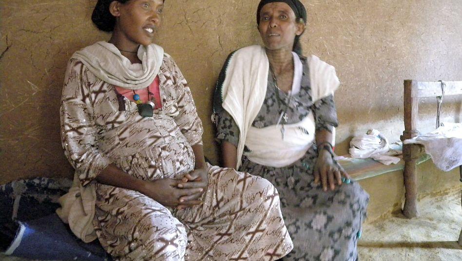 Schwangere Frau aus Äthiopien: Laut Uno-Studie ist die Müttersterblichkeit gesunken