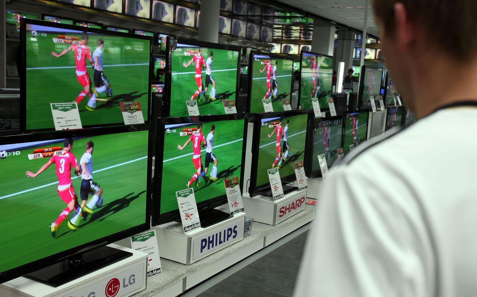 Fernseher / Elektromarkt