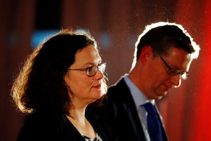 Andrea Nahles, Thorsten Schäfer Gümbel