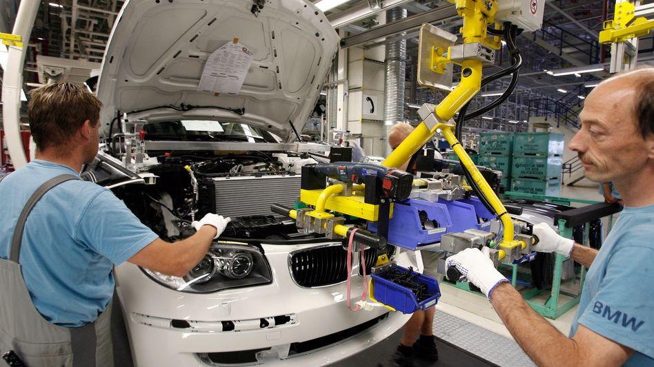 BMW-1er-Produktion in Leipzig: Sind 20 Prozent Leiharbeiter zu viel?