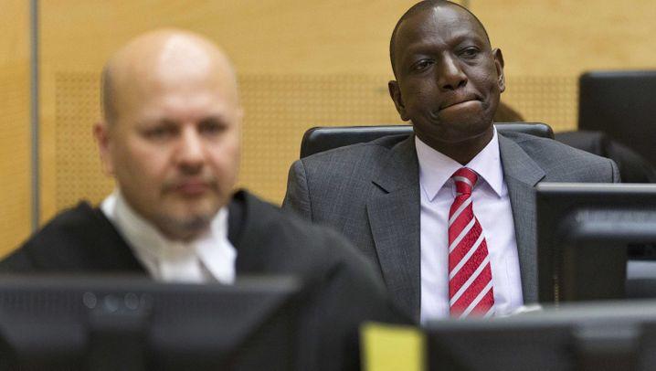 Prozess in Den Haag: Kenias Vizepräsident unter Anklage