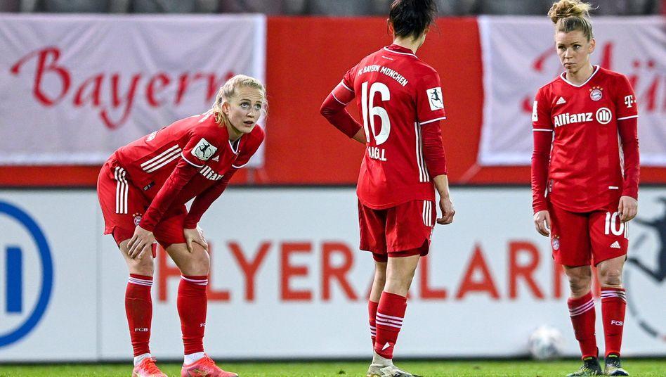 Für die Münchnerinnen gab es am 18. Spieltag dieser Saison das ungewohnte Gefühl einer Niederlage