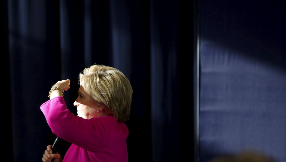US-Präsidentschaftsbewerberin Hillary Clinton