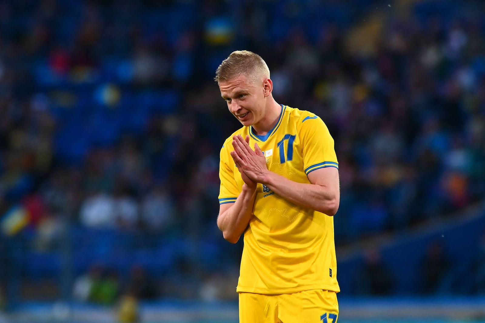 KYIV, UKRAINE - JUNE 07, 2021: Oleksandr Zinchenko (17), The football match Ukraine vs Cyprus Copyright: xVitaliixKliui