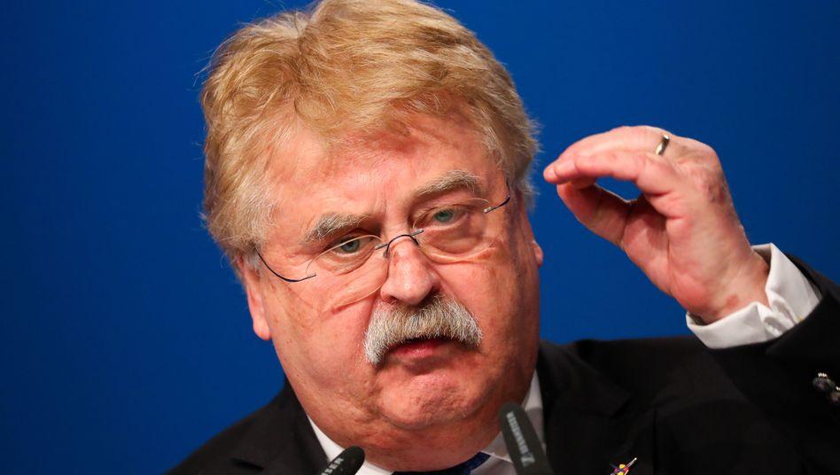 Europapolitiker Elmar Brok