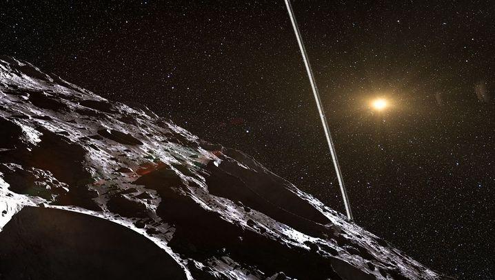 """""""Chariklo"""": Erster Kleinplanet mit Ringen entdeckt"""