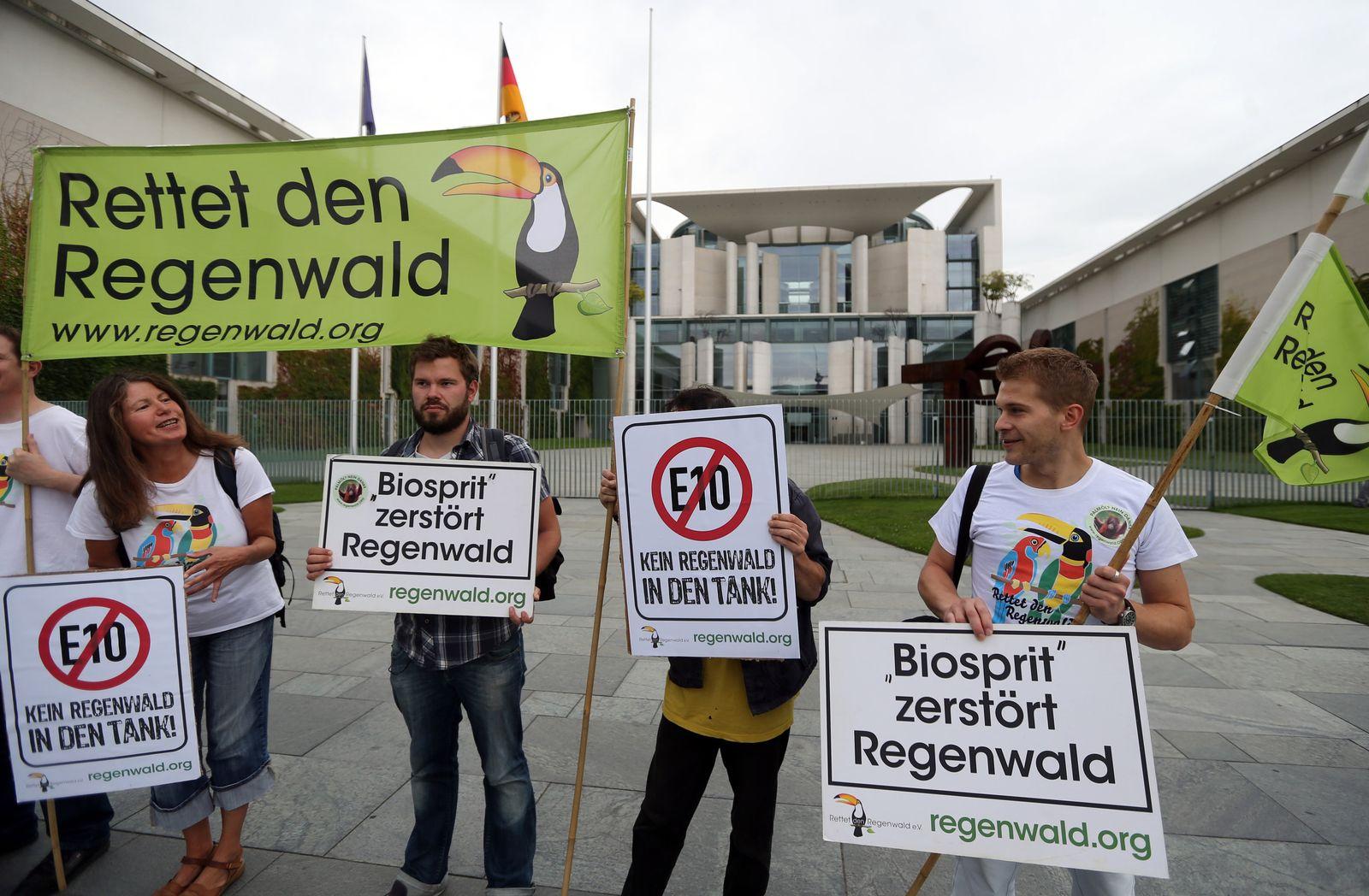 Energietreffen / Bundeskanzleramt /Protest
